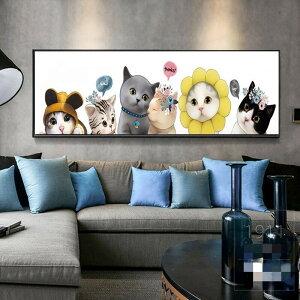 クロスステッチ キット 刺繍キット 猫 ねこ ネコ 図案印刷 図案 おしゃれ 初心者 簡単 かわいい 壁アート 壁 装飾 飾り 指ぬき 糸通し付き cxy30-ss
