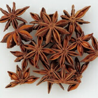 Star anise, octagonal bulk herb seed spice (kind) Star Anise