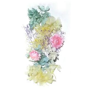 ハーバリウムキット 花材セットB ブルーピンク