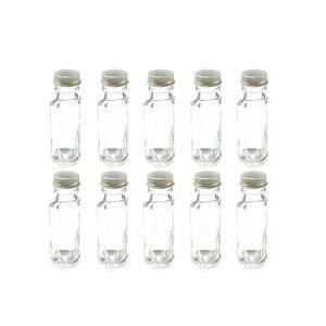 ハーバリウム 瓶 ボトル ハーバリウムキット ハート型 50ml ボトル 10本セット 飲料瓶