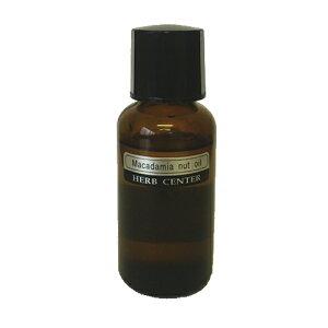 ハーブセンターキャリアオイル(植物油)マカデミアナッツ(マカダミアナッツ)オイル(精製) 50ml