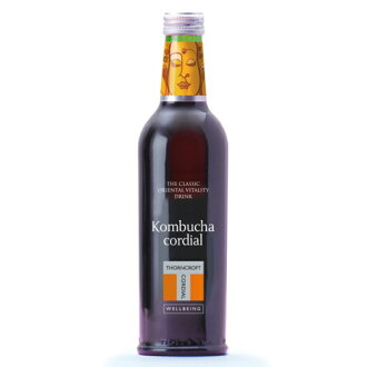 Thorncroft herb cordial コムブッカ kombucha 375ml fs3gm