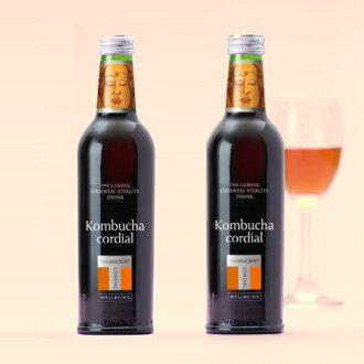 ソーンクロフトハーブコーディアルコムブッカ kombucha 375 ml *2 set