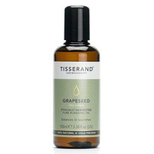 ティスランド グレープシードオイル 100ml ビーガン ロバートティスランド エシカリー ブドウ種子油 英国製