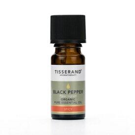 ティスランド ブラックペッパー 精油 9ml オーガニック 有機 100% ナチュラル ピュア エッセンシャルオイル TISSERAND ロバートティスランド ROBERTTISERAND 英国土壌協会認証