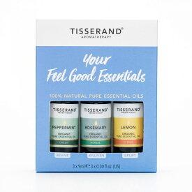 TISSERAND ティスランド 精油 3種セット ユア フィールグッド エッセンシャルオイル キット ロバートティスランド YOUR DAILY ESSENTIALS KIT