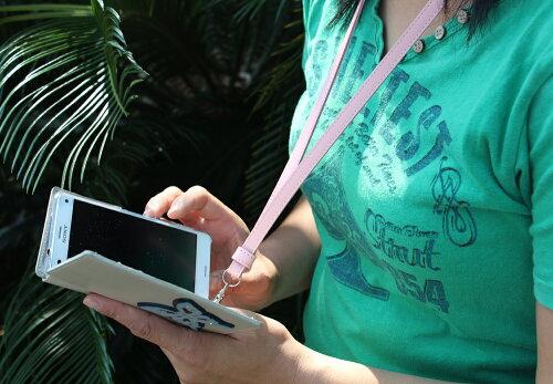 牛革/ロングストラップレザーストラップ携帯スマートフォンに