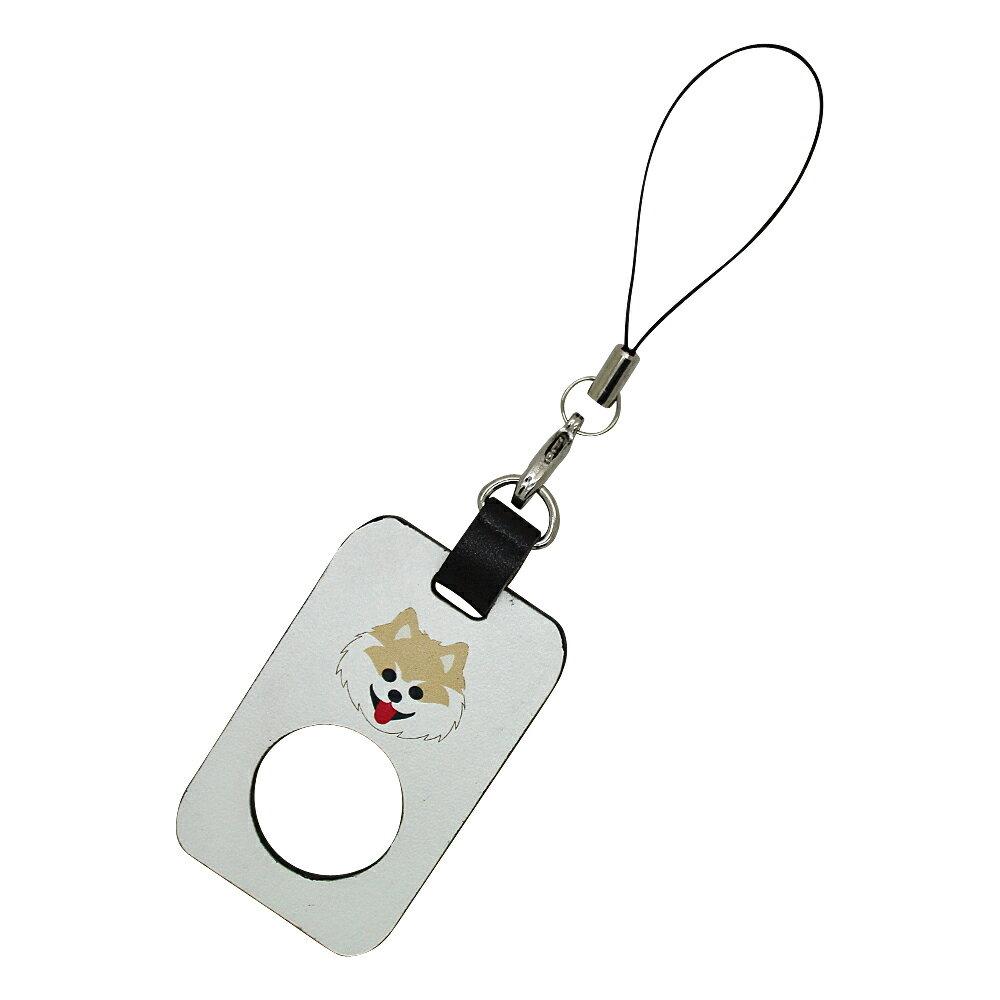 定形外郵便限定 送料無料イヌ ネコ パンダ iPhone スマートフォン スマホ リング ストラップ牛革 落下防止 日本製