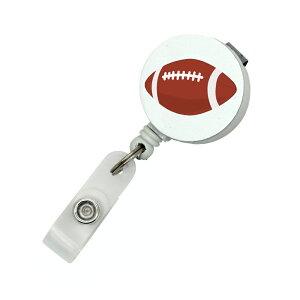 ラグビー ラグビーボールリールストラップ クリップ付きパスケース 名札 ストラップ 鍵等と一緒に定形外郵便限定 送料無料