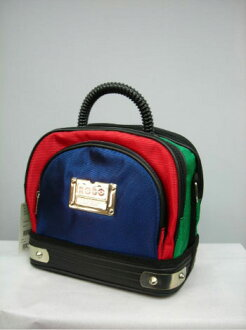 Translation and Italy brand GAETANO IANNICE nylon 2-way bag multicolor