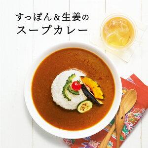 【送料無料】レトルトの匠が作った 沖縄産すっぽんとやんばる生姜入りスープカレー|180g×6袋| すっぽんスープカレー しょうが 淡路島産玉ねぎ DHA EPA タンパク質 天然コラーゲン 最高級