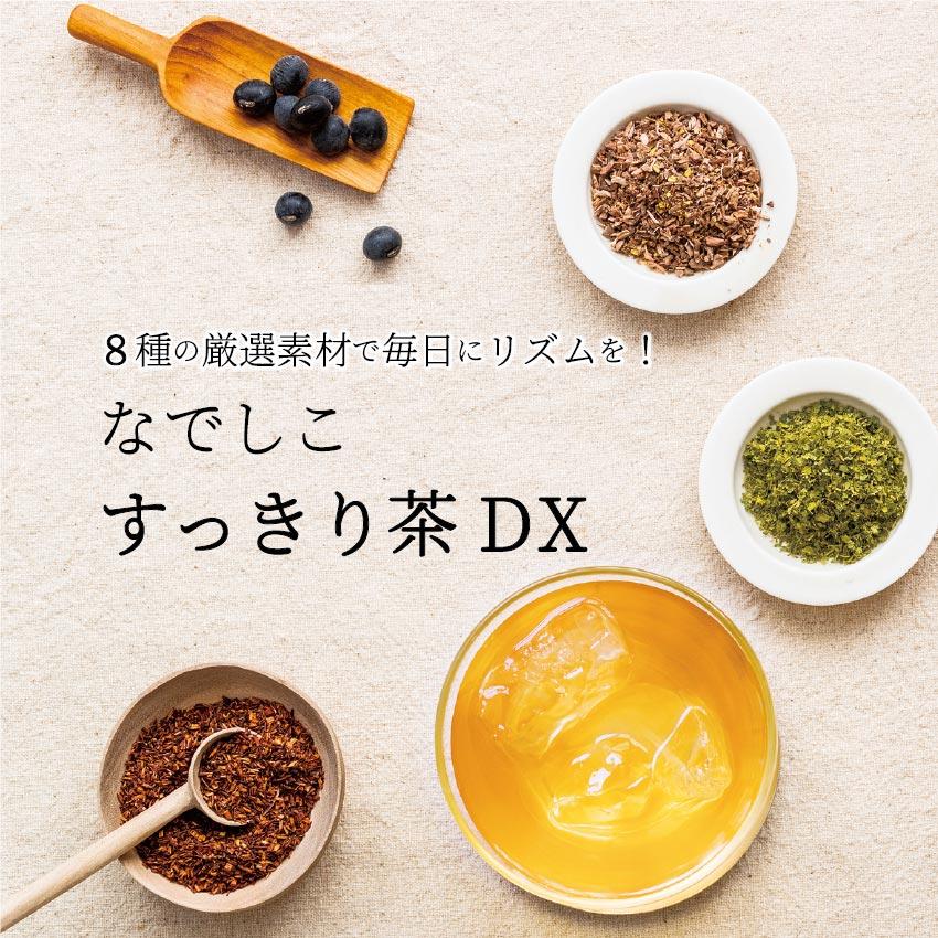 【送料無料】なでしこすっきり茶DX|お試し2g×5個入り|ダイエットや便秘にお悩みの方へ