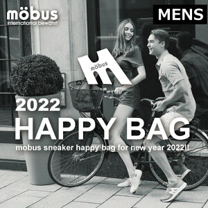 ★福袋2021★MOBUS HAPPY BAG 2足入り+ブランドグッズ セット mobus(モーブス)スニーカー【メンズ】