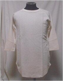 JEMORGANサーマル 七分袖Tシャツ(裾カーブ)M〜XLサイズ03.生成り6022-226ジェーイーモーガン