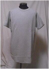 JEMORGANサーマル 半袖ビッグTシャツ裾ラウンドM〜XLサイズ14.グレイ7051-326ジェーイーモーガン