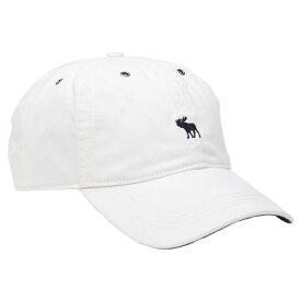 【並行輸入品】アバクロンビー&フィッチ キャップ ( 帽子 ) Abercrombie&Fitch Icon Twill Hat (ホワイト)