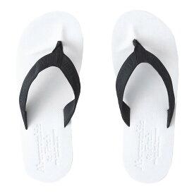 【並行輸入品】アバクロンビー&フィッチ メンズ ビーチ サンダル Abercrombie&Fitch Flip Flops (ホワイト) 【 ビーサン 】