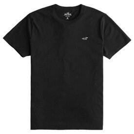 【並行輸入品】【メール便送料無料】ホリスター メンズ Tシャツ ( 半袖 ) Hollister Must-Have Crewneck T-Shirt (ブラック) 【 tシャツ tシャツ 】