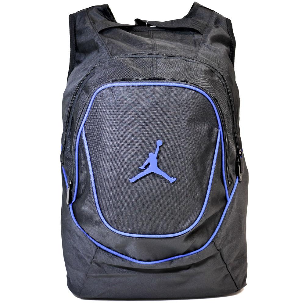 【並行輸入品】ナイキ ジョーダン バックパック Nike Air Jordan Jumpman (ブラックブルー) 【 リュック デイバッグ かばん NIKE 】