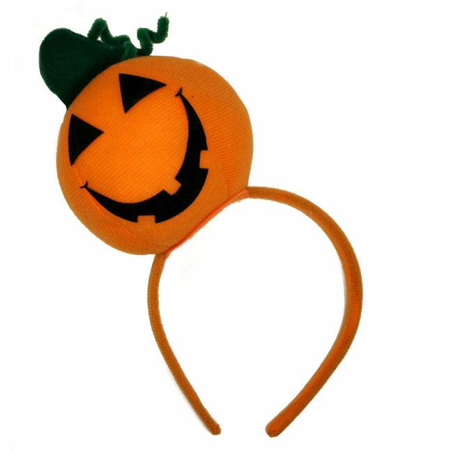 カチューシャ ■■ハロウィン ジャックオーランタン かぼちゃ C06-30▼3240円以上で送料無料▼ヘアアクセサリー ハロウィンコスプレ