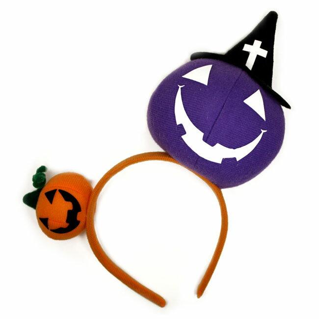 カチューシャ■■ハロウィン ジャックオーランタン ウィッチ かぼちゃ C06-31▼3240円以上で送料無料▼コスプレ