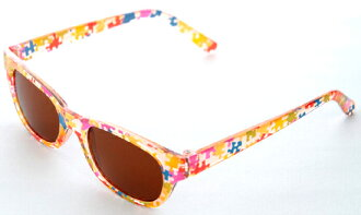 ♦ ♦ UV ★ kids sunglasses puzzle Brown UV cut 11506 ▼ Yu packet not allowed: 3,240 Yen over ▼ (the sunglasses kids children's sanngurasu junior sunglasses store Rakuten)