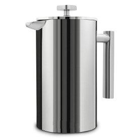 コーヒー愛好家に人気☆美味しい フレンチプレス350ml  コーヒーティーメーカー パーコレーター ステンレス鋼二重壁断熱 chy1126