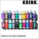 KRINK クリンク K-60 PAINT MARKER ペイント マーカー スケート・メンズ・グラフィック [セール除外品]