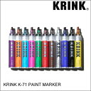 KRINK クリンク K-71 PAINT MARKER ペイント マーカー スケート・メンズ・グラフィック [セール除外品]