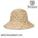 BRIXTONブリクストンKENNEDYHATDARKTANスケート・メンズ・CAP・キャップ・HAT・ハット・帽子[セ]