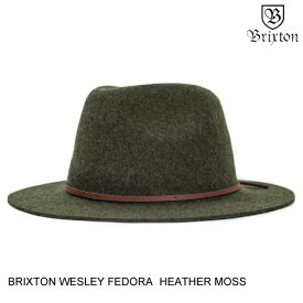 BRIXTON ブリクストン WESLEY FEDORA 【4色】 S-L 帽子