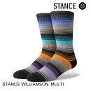 STANCEスタンスWILLIAMSONMULTIスケート・メンズ・靴下・ソックス[セ]