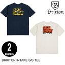 BRIXTON ブリクストン INTAKE S/S TEE 【2色】 S-XL 半袖Tシャツ [セ]