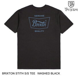 BRIXTON ブリクストン STITH S/S TEE 【2色】 XL-XXL 半袖Tシャツ