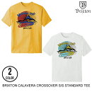 BRIXTONブリクストンCALAVERACROSSOVERS/STEE【2色】M-L半袖Tシャツ[セ]