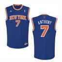 NBA カーメロ・アンソニー ニックス adidas New York Knicks Carmelo Anthony Jersey バスケットボール・メンズ N...