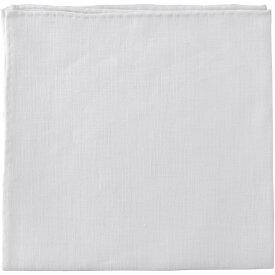 ムンガイ ポケットチーフ リネン E7 ホワイト Mungai
