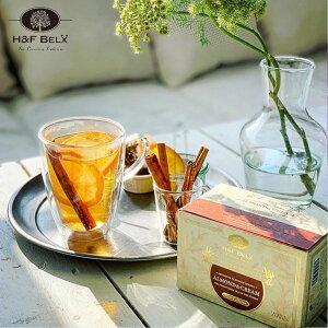 アーモンドクリーム 1.5g×20TBルイボスティー ルイボス茶 フレーバーティー ハーブティー 茶葉 ティーバッグ お茶 オーガニック ノンカフェイン プレミアム ピュア H&F BELX エイチアンドエフ