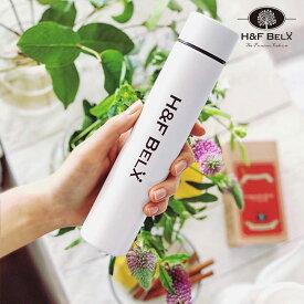 ステンレスタンブラー ホワイト 190ml保冷 保温 水筒 断熱 軽量 ボトル スリム ポケボトル アンブレラ 細い デザイン オシャレ トレンド ポケトル マグボトル スティック マグ 白 H&F BELX エイチアンドエフ ベルクス