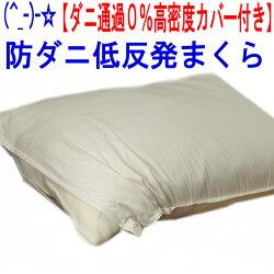 (^_-)-☆低反発まくら(高密度カバー付き)