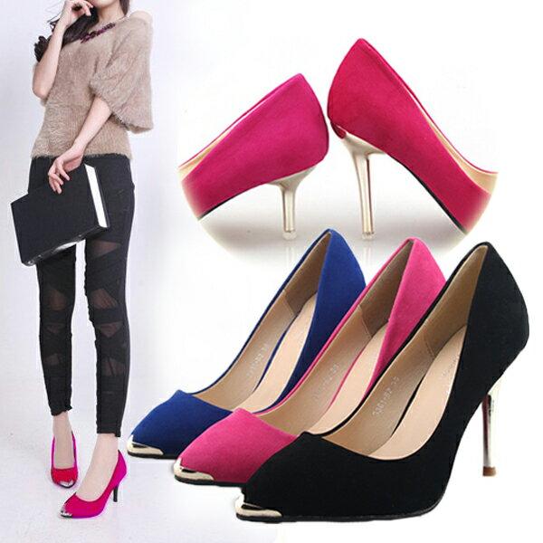 送料無料 パンプス ヒール2type 6.5センチor9センチ サイズ豊富 美脚 ピンヒール パンプス 靴 くつ シューズ 大きいサイズ 走れる shoes697