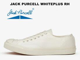 コンバース ジャックパーセル ホワイトプラス 白CONVERSE JACK PURCELL WHITEPLUS RHスニーカー レディース メンズ ローカット キャンバス