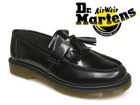 ドクターマーチン エイドリアン タッセルローファー モカシン ブラック 黒 レディース メンズ Dr.Martens ADRIAN TASSEL LOAFER BLACK PLOLISHD SMOOTH