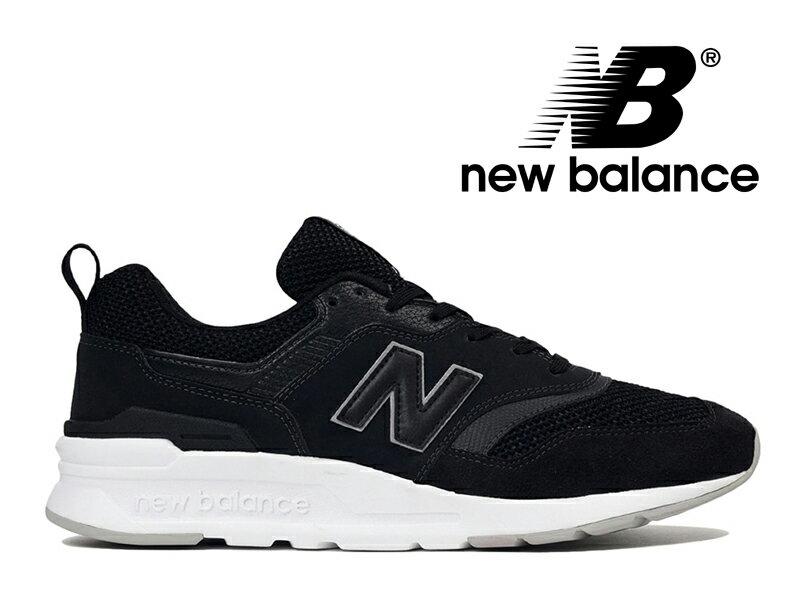 【2019春夏新作】NEW BALANCE CM997H BC ニューバランス レディース メンズ ブラック 黒【国内正規品】