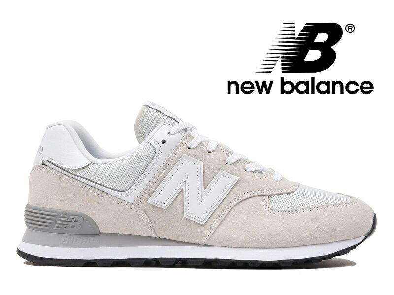 【2018年リニューアルモデル】NEW BALANCE ML574 EGW ニューバランス レディース メンズ ニンバスクラウド ホワイト【国内正規品】