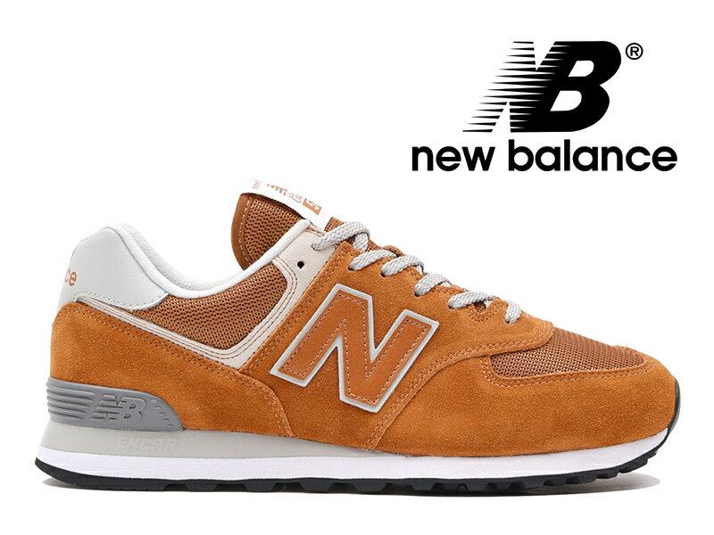 【2018年リニューアルモデル】NEW BALANCE ML574 EPE ニューバランス レディース メンズ キャニオン (オレンジ)【国内正規品】