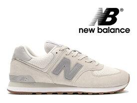 【残りメンズサイズ】【2020春夏新作】NEW BALANCE ML574 SPS OFF WHITEニューバランス レディース メンズ オフホワイト スエード メッシュ スニーカー 白【国内正規品】