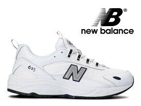 【48%OFF】【残り26.5 27.0 27.5 28.0センチ】NEW BALANCE ML615 NRT WHITE/GRAY ニューバランス メンズ スニーカー ホワイト/グレー 白 灰 (801)【国内正規品】
