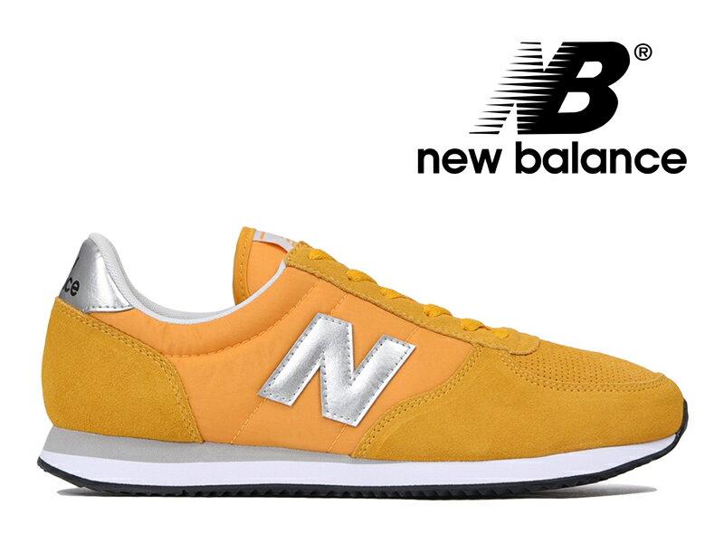 NEW BALANCE U220 FA ニューバランス レディース メンズ スニーカー イエロー/シルバー 黄色【国内正規品】