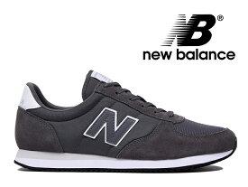 NEW BALANCE U220 FK ニューバランス レディース メンズ スニーカー グレー (チャコール) 灰【国内正規品】